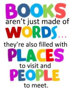 books are people