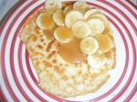Gluten Free Pancakes with Caramel Sauce & Banana AND a GIVEAWAY!