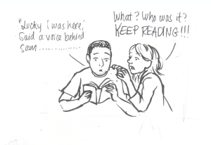 reading to hubs