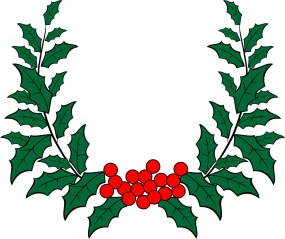 holly-wreath-vector