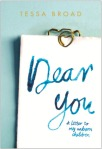 Book Review: Dear You by Tessa Broad. #InfertilityAwarenessWeek. #NFAW17