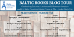 Baltic Books Blog Tour, Celebrating Baltic Books and Authors at The London Book Fair. #LBFBALTICS